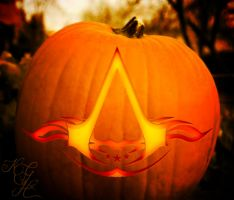 Assassin's Creed Jack O' Lantern by GainesHall