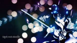 black rock shooter blue by LibelulaDoll