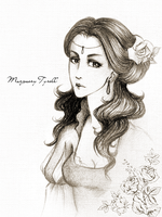 Margaery by wolverrain