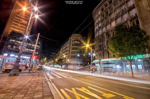 Belgrade Downtown by georgebozinov