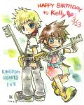 Kingdom Hearts by chihiko