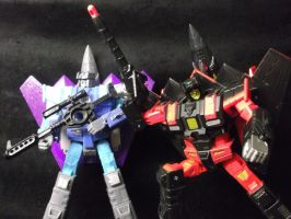 Skyjack and Darkwing, the nightmares of Autobots by forever-at-peace