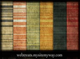 9 Grungy Stripes Patterns by WebTreatsETC