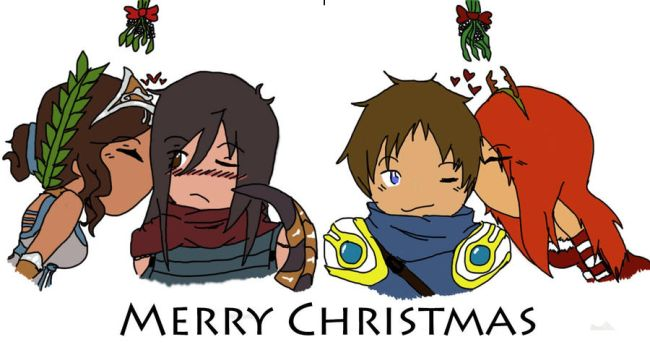 Merry League Christmas by sasukesneko