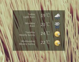 Weather V1.2 by jessydior