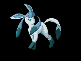 Glaceon by Electrical--Volttail