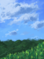 Hills by White-pine