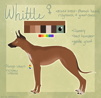 Whittle, (ref for a friend) by earthytones