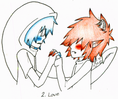 2. Love by queenofdavekat
