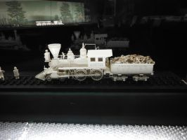 Ivory Carving of Jupiter by SteamRailwayCompany
