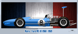 Matra-Ford MS 10 1968-1969 by Quiksilver3d