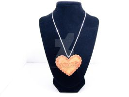 Amore Cookie Necklace by ForesakenFaerie