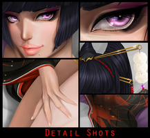 Nyotengu - Detail Shots by Flesh-Odium