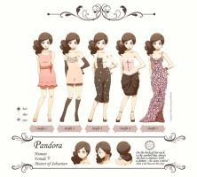 Commission - Ref Sheet Pandora by moremindmel0dy