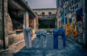 Cloths urbex... by Blakk-mamba