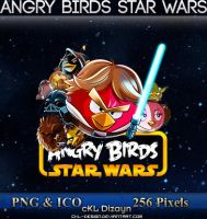 Angry Birds Star Wars - Icon by cKL-Design