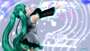 Hatsune Miku song! by Misao02