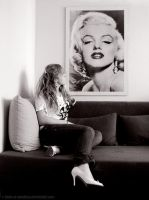 lets talk about film, Marilyn by hello-or-goodbye