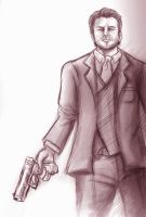 Uncharted 3 Talbot Sketch by Rinkuchan27