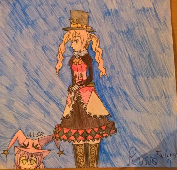 Rune Factory 4 Character Series - 04 Dolce by happydreamer96