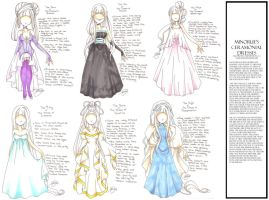 Minorue's Dresses by PinkPigtails