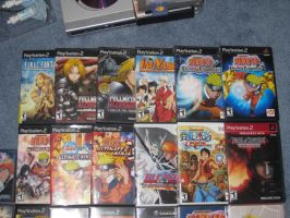 My Anime Games and Movies 1:3 by FFsGunslingerVincent