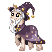 Starswirl the Bearded by TheCheeseburger