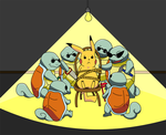 Reservoir Squirtles by jerra