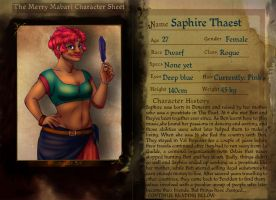 TMM OC: Saphire by Blueberry-me