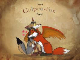 Culpeo-Fox Fan by iFoxSpirit