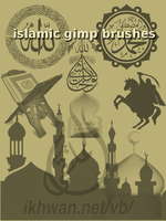 islamic gimp brushes by ahmadhasan