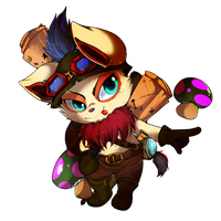 Teemo - LOL by Pikachim-Michi