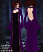 Witches Gown Promo by Kaleya