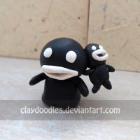 Binding of Isaac - Steven by claydoodles