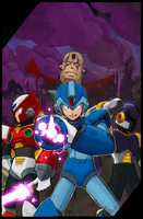 Mega Man X by T-RexJones