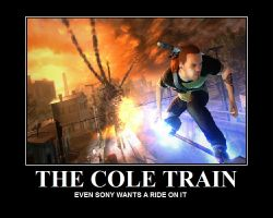 The Cole Train by The4thSnake
