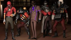 My Halloween group by SkullHunter1590