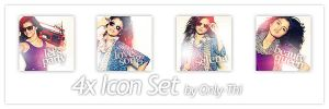 Selena Gomez - Icon Set 23 by only-thi