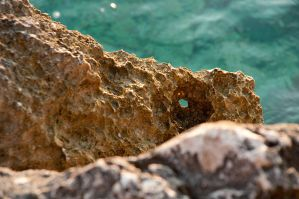 the rocks of the mediterranean by irem-altan