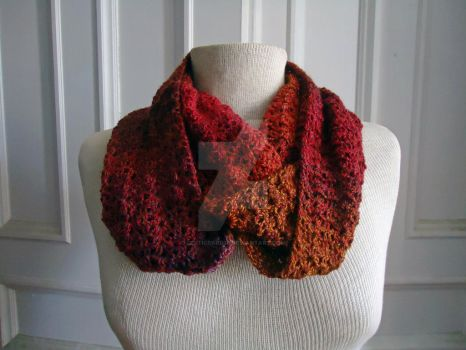 Painted Desert Cowl by celticbard76