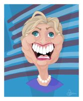 Happy Happy Hillary by WonderDookie