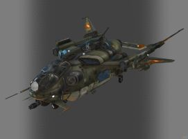 CROW DROPSHIP by Goreface13