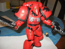warhammer 40k custom marine by soulbrother73