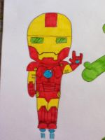 chibi Ironman by Nina2258