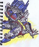 Optimus Prime-female by BankyOne