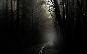 Dark Road by zuluko
