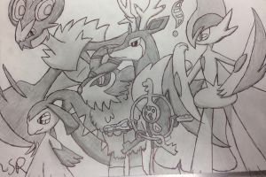 PokeAmino Team Request 1 by JudgeChaos
