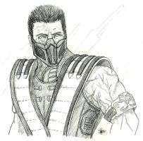 Revenant Sub-Zero MKX by GrimmRiddle