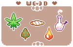 Free to use weed stuffs by cinnabutt