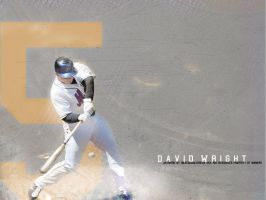 David Wright by PHIGFX